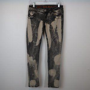 Women's True Rock Destroyed Skinny Jeans 11/12